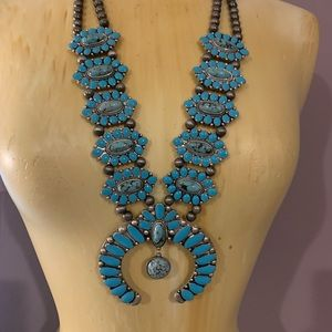 Super Statement Turquoise Necklace
